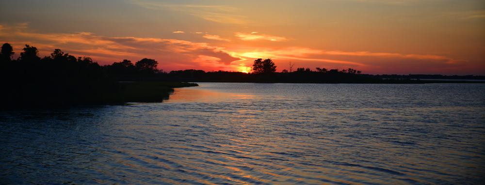 Sunset at Bayside