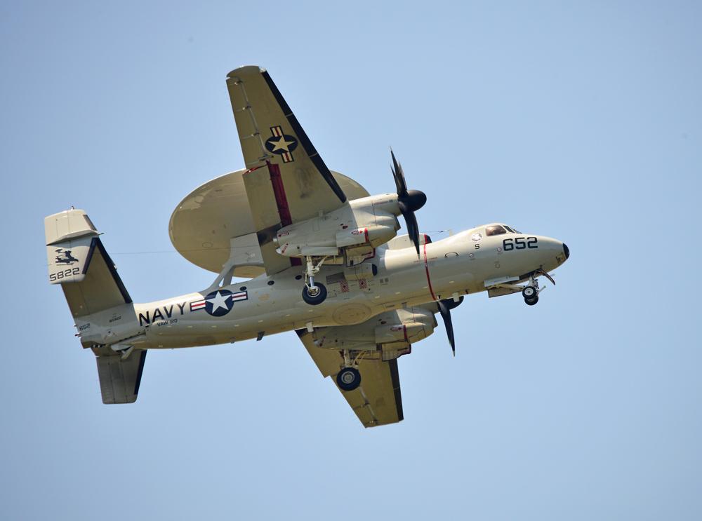 Wallop Search Plane in flight