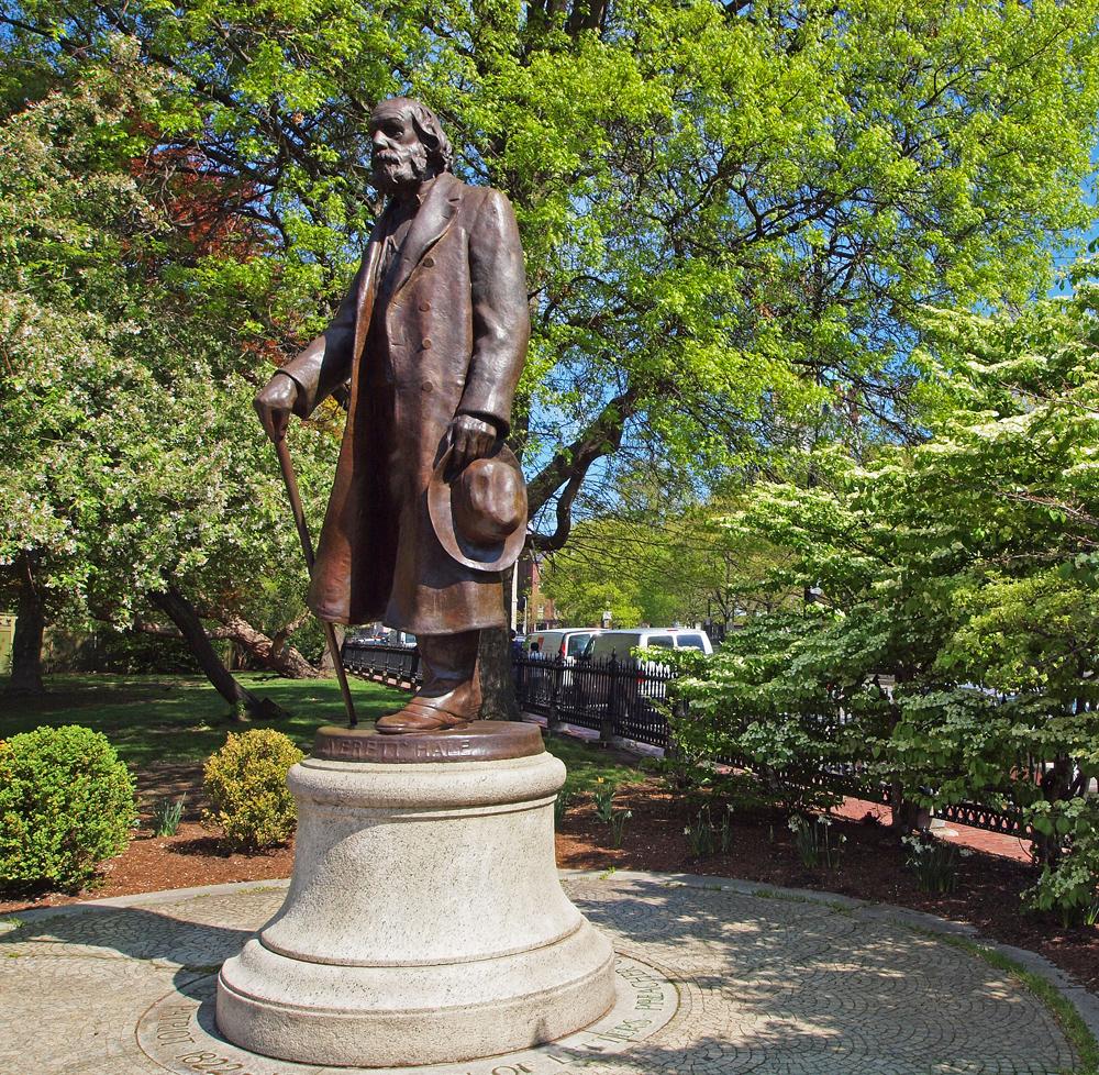 Edward Everett Hale statue by Bela Lyon Pratt
