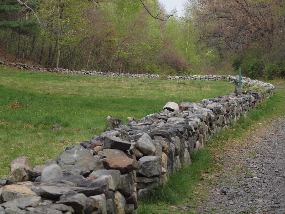 Cemetery Boundary wall