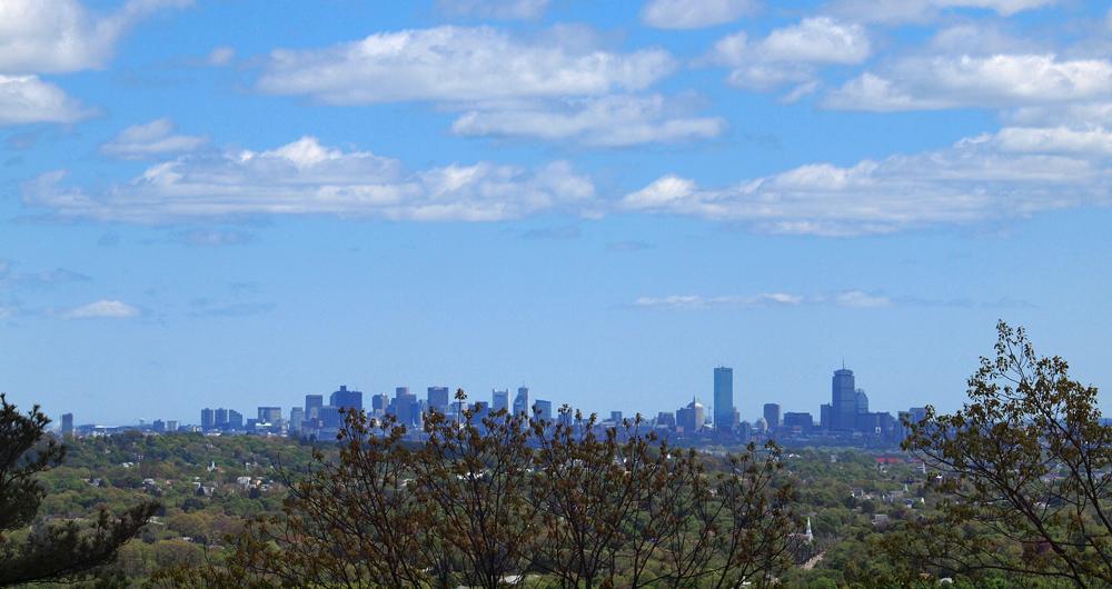 Boston City at view