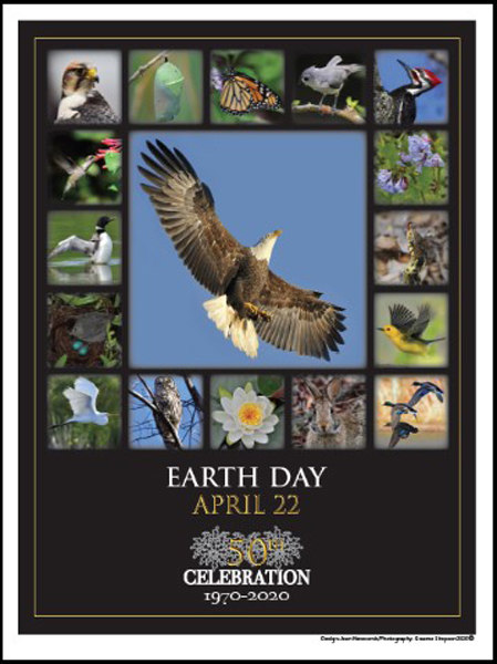 1. Earth Day, The Chesapeake Bay poster
