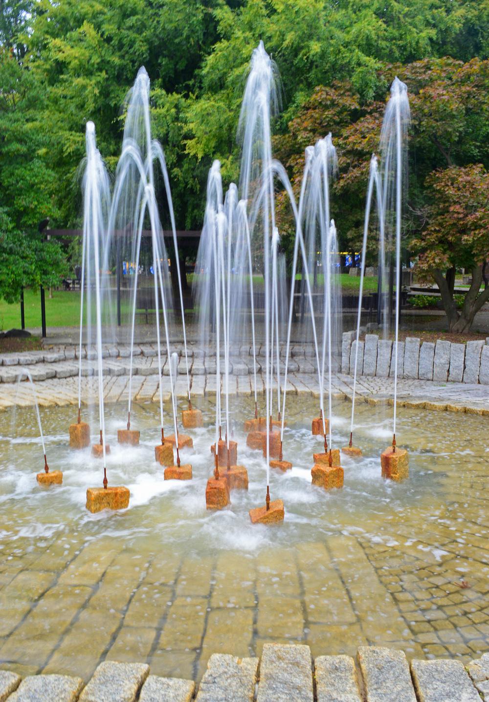 Woodside Fountain